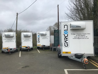 Gallery Image of parked Garcold trailers